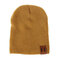 Cool Style Soft Knit Kid's Cotton Strong Elastic Beanie Cap For 1-5 Years