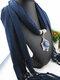 Bohemian Irregular Resin Accessories Alloy Base Women Tassel Pendant Scarf Necklace - #07