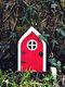1 PC Wooden Handmade Multicolor Cute Miniature Fairy Gnome Dwarf Gate Landscaping Yard Garden Tree Decor Ornament - #03