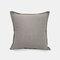 Einfarbiges Sofa Kissenbezug Polyester Leinen Kreative Autokissen Zimmer Wohnzimmer Kissen - Grey2