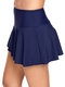 Plus Size Ruffled Skirt Swimming Bottom Panty For Women