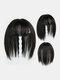 4 Colors Wig Replacement Block Fluffy Chemical Fiber Air Bangs Hair Extensions - #02