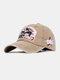 पुरुष कढ़ाई पत्र पैटर्न बेसबॉल कैप आउटडोर सनशेड समायोज्य टोपी - हाकी