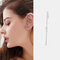 Copper Inlaid Zircon Plated Gold Puncture Earrings Surround Auricle Women Ear Clip - 09