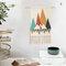 手織りのホームステイタッセルタペストリーの装飾北欧のメーターボックスぶら下がっている背景布の寝室 - #3