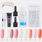 9 Colors Nail Extension Gel Nail Art Special Kit Solid Quick-Drying Model Extension Gel Set - 19