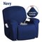 <US Instock> Waterproof Non Slip Suede Stretch Recliner Slipcover Soft Sofa Arm Chair Cover - #03