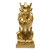 Nordic Style Faceted Crown Lion Statue Decoration Home Living Room Art Decor - #1