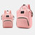 Women Canvas Casual Mummy And Kids  Patchwork Backpack - #08