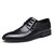 Men Classic Black Lace Up Business Formal Dress Casual Shoes