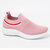 Women Running Lightweight Knitted Elastic Casual Shoes - Pink