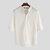 Cuello alto informal para hombre Camisa Delgado Blusa ajustada vendimia Playa Yoga Tops