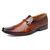 Menico رجال الأعمال جلد طبيعي عدم الانزلاق اللباس أحذية رسمية