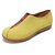 LOSTISY Suede Elastic Band Slip Resistant Lazy Slip On Closed Toe Casual Flat Loafers