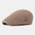 Men Visor Knit Newsboy Beret Caps Outdoor Casual Winter Cabbie Ivy Flat Hat