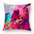 INS Style Abstract Colored Printed Short Plush Cushion Cover Home Art Decor Sofa Throw Pillow Cover