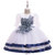 Girl's Embroidery Flower Patchwork Tulle Wedding Formal Princess Dress For 4-13Y