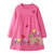 Girl's Flower Cartoon Long Sleeves Casual Dress For 1-9Y