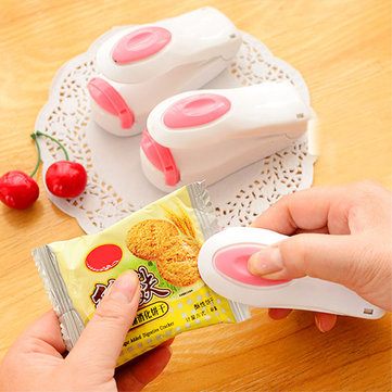 Mini Plastic Bag Heat Sealing Machine Food Bag Sealer