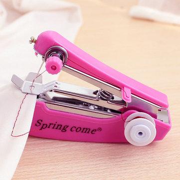 Portable Mini Manual Clothes Sewing Machine Handcraft DIY