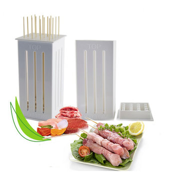 16 Löcher DIY BBQ Slicer Box