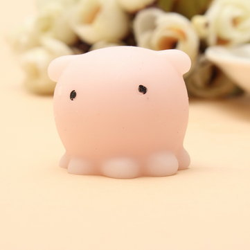 Mochi Octopus Squishy Squeeze Toy Cute Healing Toy Kawaii Collection Stress Reliever Gift Decor