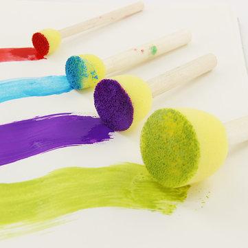 KCASA 4PCS/Set Sponge Paint Brush