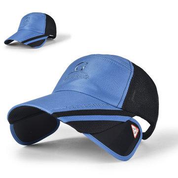 Cappello da esterno traspirante regolabile traspirante da baseball da uomo
