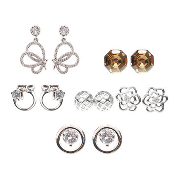 JASSY® Crystal Earring Set