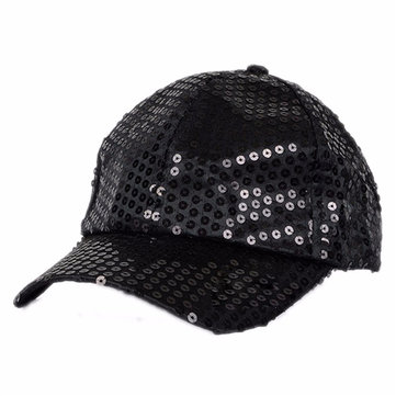 Kids Sequin Baseball Cap