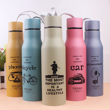 KCASA KC-IC07 Car Grenade Thermoses Stainless Steel Vacuum Flask Double Insulated Travel Bottle Cup