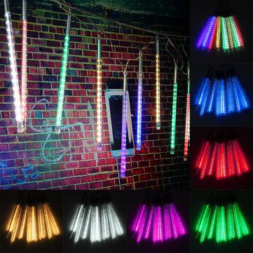 10 Tube Rain Fall Outdoor  String Tree Light