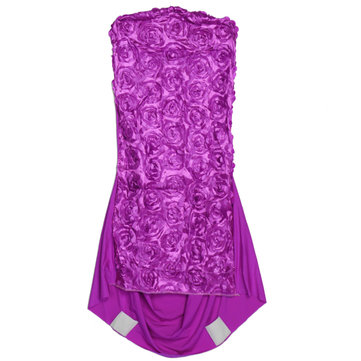 Universal Rose Stretch Polyester Chair Covers