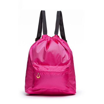 KCASA KC-SK01 Travel Waterproof Drawstring Bag Lightweight Sackpack Gymbag Sport Backpack