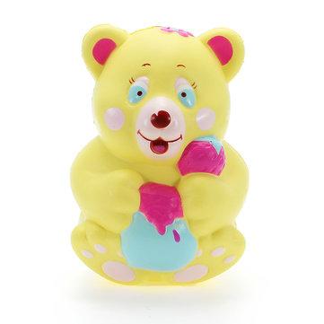 Xinda Squishy Strawberry Bear Juguetes de crecimiento lento