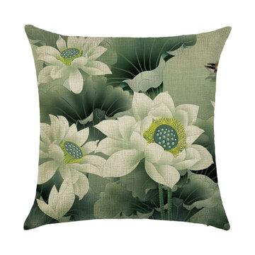 Various Flower Style Linen Pillowcases