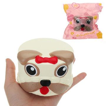 Dog Head Squishy  Soft Toy
