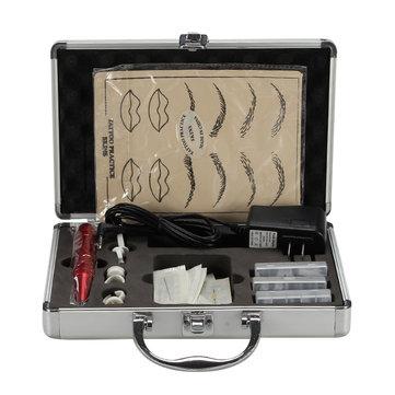 पेशेवर टैटू किट भौं होंठ Eyeliner मशीन मेकअप उपकरण सेट