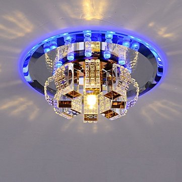 3W Modern LED Crystal Ceiling Light Pendant Lamp Fixture Chandelier Home Decor