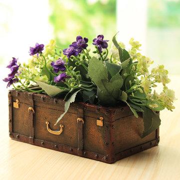 Harz Koffer Blumentopf