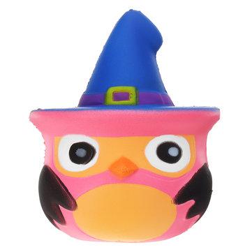 Squishy Pumpkin Bird Slow Rising Toy Kids