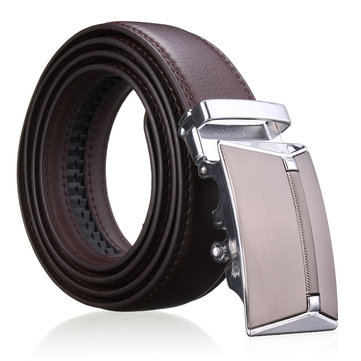 Men Second Floor Cowhide Leather Belt