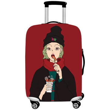 Cool Girls Elastic Luggage Cover