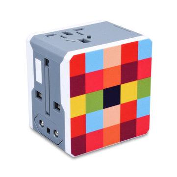 USB Conversion Plug US EU AU UK Plug Power Adapter