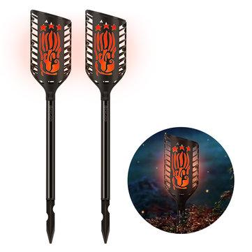 Lampe solaire de flamme de décoration de jardin de Digoo