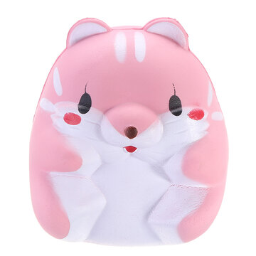Hamster 8cm Slow Rising Squishy Tag Cute Animals Collection Gift Decor Toy