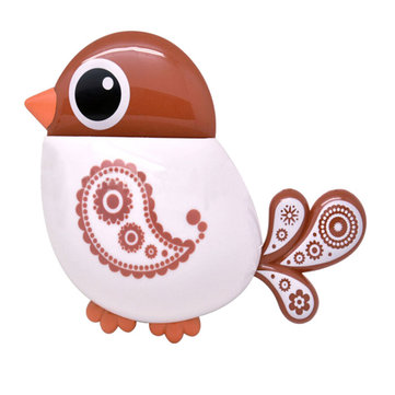 Honana Toothbrush Suction Cup Bird Pattern Holder Creative Exquisite Brush Holder Toothbrush Shelves 4 Color Bathroom Accessories Toothbrush Toothpaste Bath Storage Organizer Tool фото