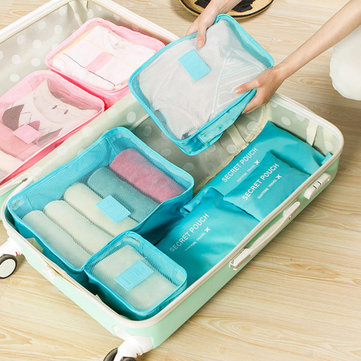 Waterproof Travel Storage Bag  Cube Clothes Quilt Storage