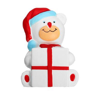 Christmas Bear Squishy Toys
