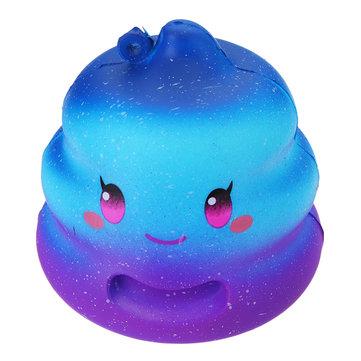 Crazy Squishy Galaxy Poo Slow Rising Toys